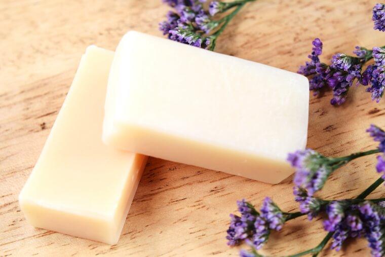 ハーブ手作り石鹸の効果と作り方