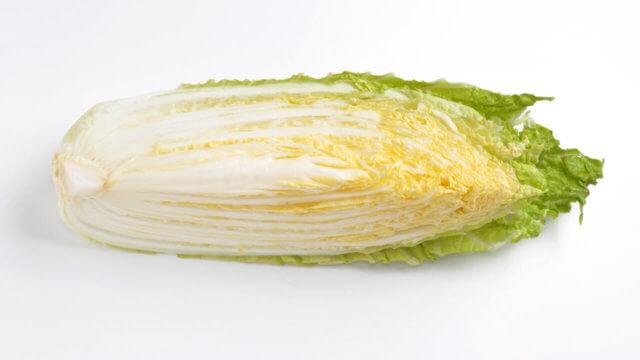 白菜の賞味期限と保存方法